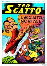 Ted  Scatto ristampa anastatica anni 40