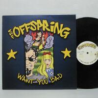 "Offspring - Want you bad 12"" Single 2001 EU ORIG NOFX Green Day RANCID PUNK LP"