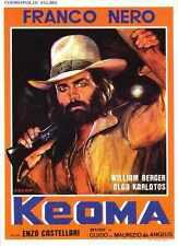 Keoma Poster 01 Metal Sign A4 12x8 Aluminium