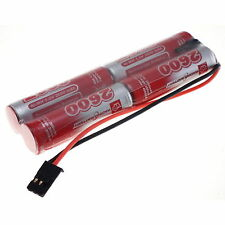4.8V 2600mAh NiMH AA Flat 2+2 RC Battery Pack VapexTech