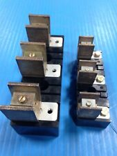 LOT OF 2 ALLEN BRADLEY X-402238 & X-400657 FUSE BLOCK DISCONNECT SWITCH USED A12