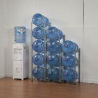 3/4/5 Layer Water Cooler Jug Rack 5 Gallon Water Bottle Storage Rack Detachable