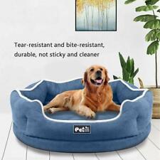 Washable Plush Pet Dog Cat Puppy Bed Puppy Cushion Warm Kennel Mat Blanket