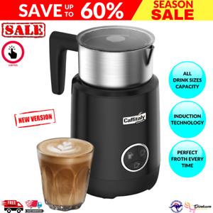 Grinders Caffitaly Induction Milk Frother Black