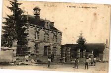 CPA BERNON .- La mairie et l'ecole  (197253)