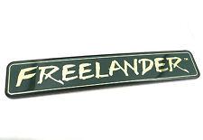 Genuine New Rare LAND ROVER FREELANDER REAR BADGE E S SE HSE SPORT TD4 1997-2004