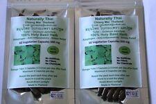 Organic Holy Basil 100% - 500mg x 120 Veg Capsules - Tulsi - Bio