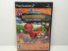 Konami Kids Playground Dinosaur Shapes and Colors (PlayStation 2, 2007) New