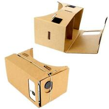 """Google Cardboard Virtual Reality Glasses With VR Source for 3.5 -5.5"""" Phones QN"""