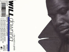 WILL DOWNING THE WORLD IS A GHETTO RARE 3 TRACK CD SINGLE
