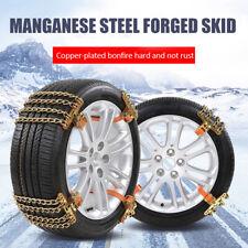 Car Truck  SUV Emergency Snow Anti-Skid Wheel Tire Chains Steel Anti-Slip Belt
