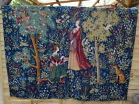 Tapestrie Aubusson scene galante' robert four 1m45 x 1m80 tapisserie