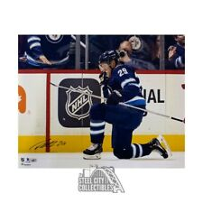 Patrick Laine Autographed Jets (Goal Celebration) 16x20 Photo - Fantatics