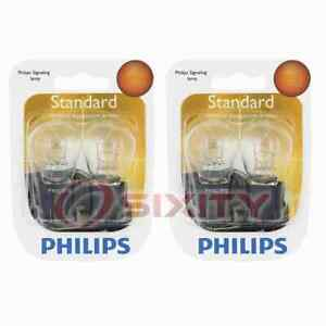2 pc Philips Parking Light Bulbs for Nissan Armada Frontier Pathfinder Quest dd