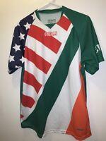 Rare Ireland Oneills Erie Maguidhir #1 Soccer Jersey Mens Sz L Koollite