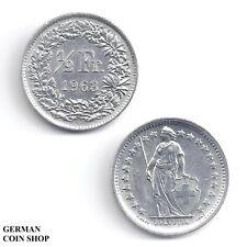 Schweiz 1/2 Franken Silber 1879 1910 1913 1914 1920 1921 1928 1931 Switzerland