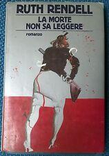 La morte non sa leggere - Ruth Rendell - 1987, Mondadori, edizione 1 - L