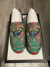 Toddler Gucci 'Princetown' GG Supreme Loafer Size 29