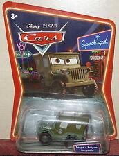 Sergent Sarge série Supercharged Cars Disney / Pixar Mattel