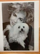 Elizabeth Taylor Autographed Autopen 8x10 Framed Photo Pre-Owned