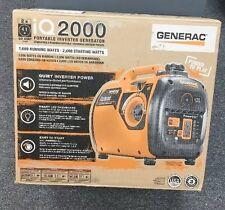 Brand New Generac iQ2000 2000 Watt Portable Inverter Generator Model 6866