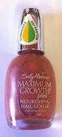 SALLY HANSEN LACQUER SHINE/ MAXIMUM GROWTH NAIL POLISH * CHOOSE TYPE & SHADE *