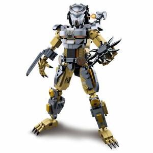 Alien Vs Predator Building Blocks Bionicle Action Figures UK Seller 🇬🇧