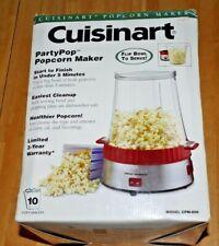 Cuisinart Party Pop Popcorn Maker Model Cpm-800
