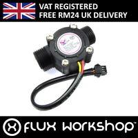 Hall Effect Flow Meter YF-S201 Hydroponic Water 0-30lpm Arduino Pi Flux Workshop