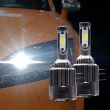2x H15 Auto Coche LED Faros Faro 11000LM 6000K 110W Kit de conversión Brillante