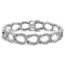 Kelly Herd Horseshoe Sterling Silver Bracelet 6Q000000