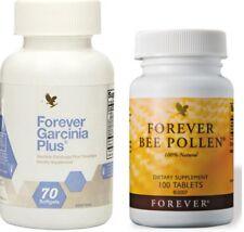 Forever Bee Pollen,100 tabl. & Garcinia Plus,70 softgels KOSHER HALAL, Free ship