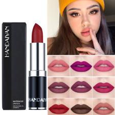 HANDAIYAN 12 Color Liquid Lip Gloss Matte Glitter Lipstick Lip Pen Long Lasting