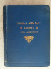 Thomas Paul Sandby Vintage H/B Book 1892 Royal Academy Art Architecture