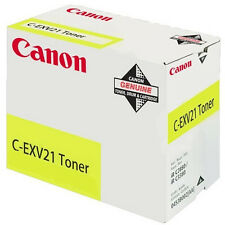 Canon Cexv21 Laser Toner Cartridge Page Life 14000pp Yellow