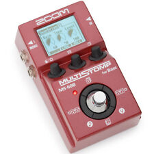 Zoom MS-60B MultiStomp Bass Pedal, New!