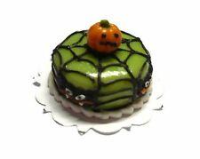 Halloween Cake Spider Pumpkin Dollhouse Miniatures Food Bakery Holiday Season 10