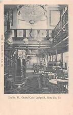 Germany postcard Berlin Grand Cafe Luitpold Motz-Str. 15 interior view