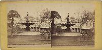 Parigi Francia Foto Stereo Stereoview Vintage Albumina Ca 1865