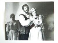 Foto Original Fotógrafo Zoe Dominic Opera Luciano Pavarotti 1978