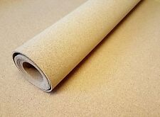 CORK UNDERLAY CORK SHEET ROLL 1M WIDE X VARIOUS THICKNESSES ORDER BY THE METRE