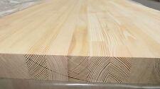 Leimholzplatte, sib. Lärche, Massivholzplatte, Arbeitsplatte 40x600x4000 mm,