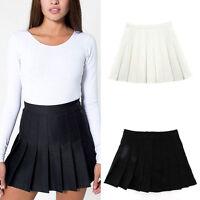 Fashion Women Girl Slim Thin High Waist Pleated Tennis Skirts Mini Dress Playful