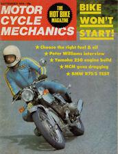 September Motorcycle Mechanics Magazines in English