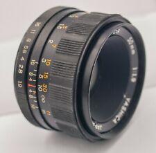 Yashica Yashinon-DS 50mm F1.9 Pentax M42 Screw Lens For SLR/Mirrorless Cameras