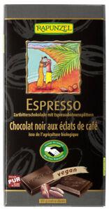 KS (31,25/kg) 6x Rapunzel Zartbitter Espresso 51% Kakao HiH vegan bio 80 g