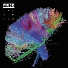 Muse-The 2nd Law (LIMITED EDITION) CD + DVD 15 tracks alternativa rock NUOVO
