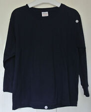 New Fruit of the loom 100% cotton long sleeve T-shirt Navy age 7-8 years