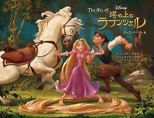The Art of Tangled Walt Disney Pictures illustration art book