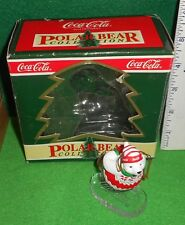 1995 Coca - Cola [ Polar Bear ] Collection Ornament Used